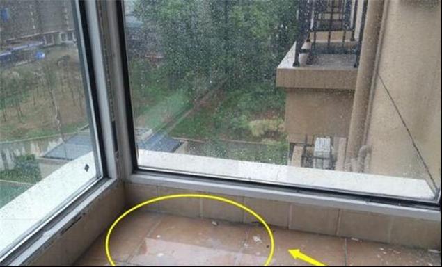 南京二手房装修阳台渗水,查明原因才知道没有处理好