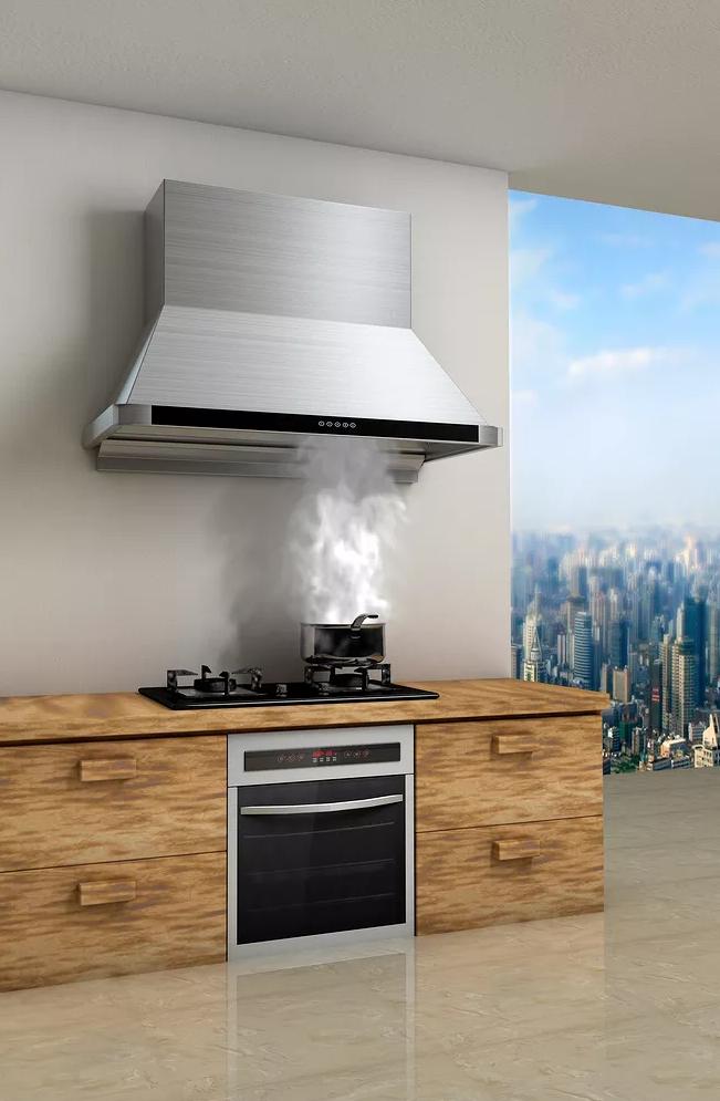 厨房装修,购买油烟机的方法