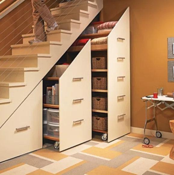 空间装修设计,让楼梯间也可以变成房间
