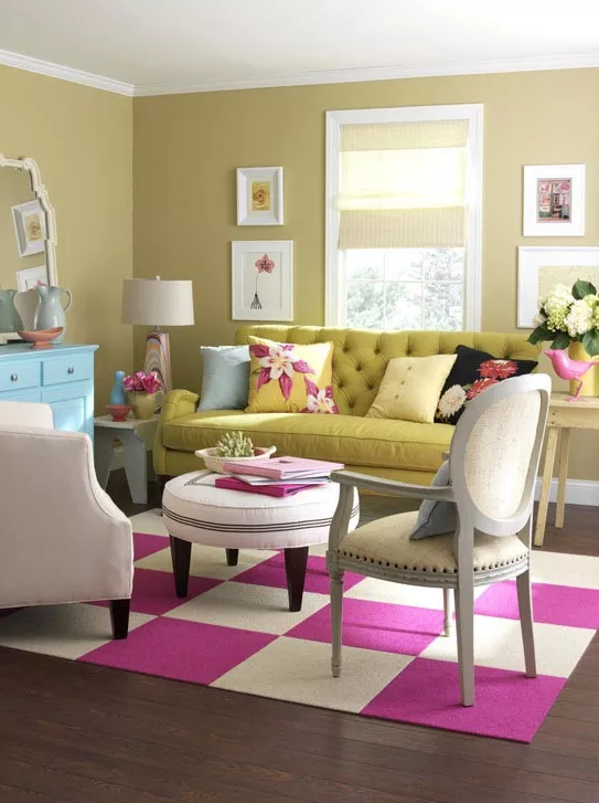 装修色彩搭配原理和技巧,一个色色的家