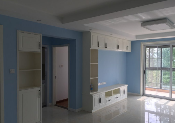 安阳御翠园装修木工家具制作,打制的家具真漂亮
