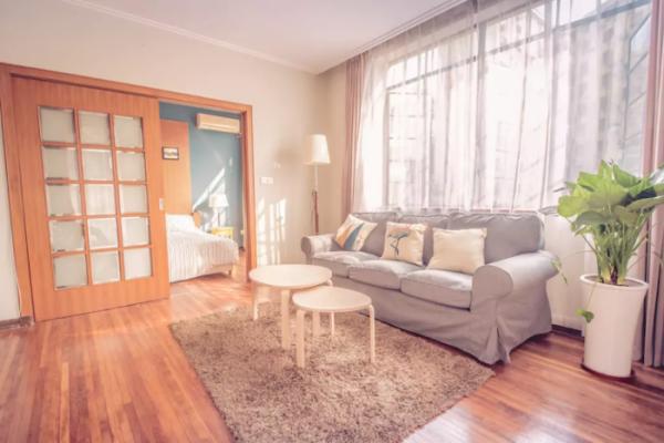 南京50平二手房改造,简单的小清新风格效果