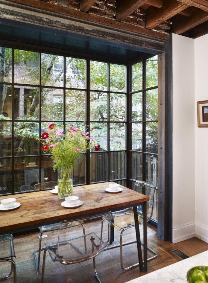 小户型阳台装修成餐厅,1个阳台可以4种用途!