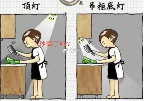 南京厨房装修,有经验的煮妇这样安灯,真方便了十倍