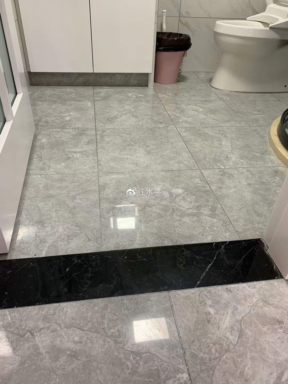 南京卫生间装修,过门石细节没做好,会造成的损失太大了