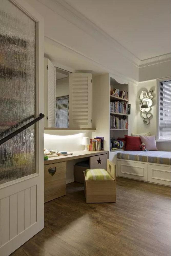 书房加榻榻米,这几种设计就是好看