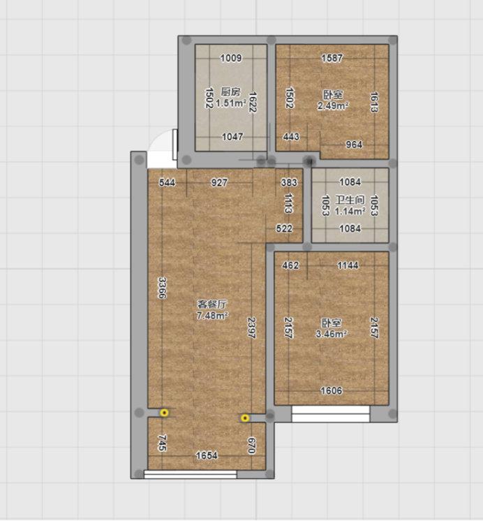 南京兴隆新寓兴宏园二手房改造,让家更实用