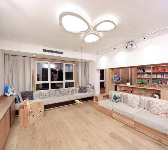 客厅无电视的设计方案,孩子的未来开始改变