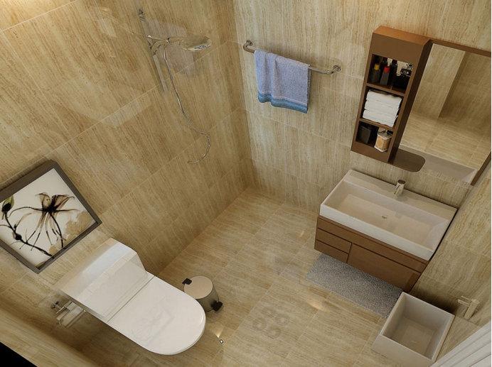 小卫生间设计技巧,1平米也能从容应对