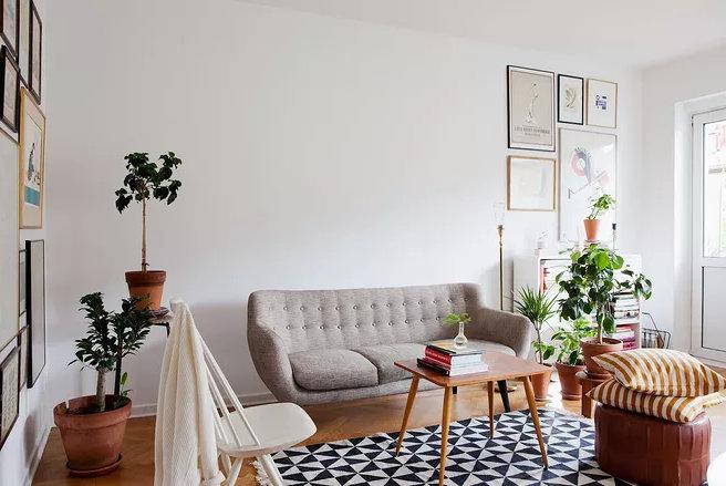 住房客厅装修效果图,用客厅技巧打造的客厅