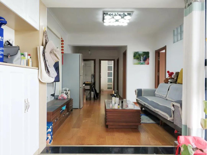 南京新房装修案例,没有装修效果,只有结实耐住