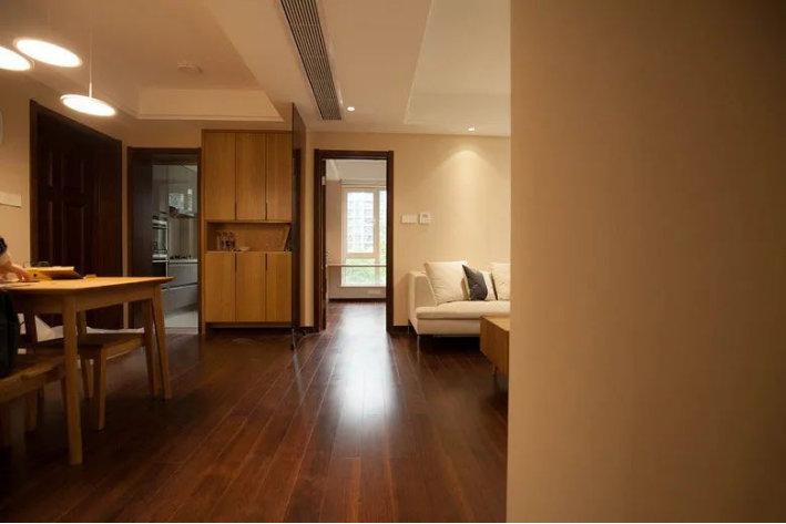 110平四居室的布局设计,现代简约装修案例,简约不简单