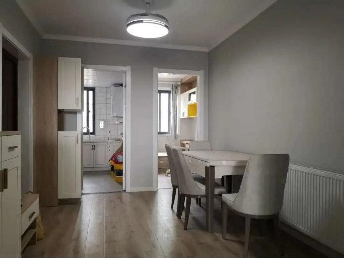 南京小里新寓装修案例,105平三居室,简单舒适最惬意