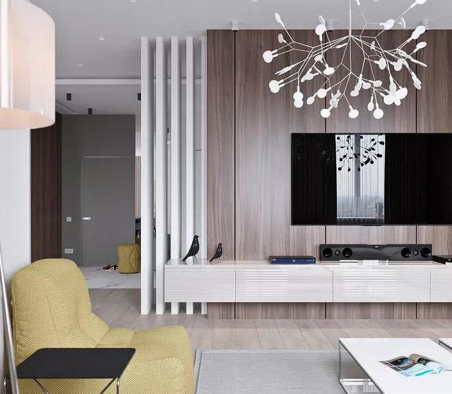 电视背景墙装修需要注意什么,舒适的环境更放松,你家怎么装的