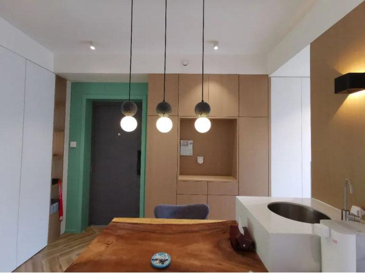 南京东郊小镇装修案例,80平的两室两厅,简单却又很精致