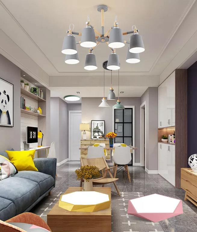 两室两厅的户型怎样装修好?打破传统布局,温馨实用效果也简单