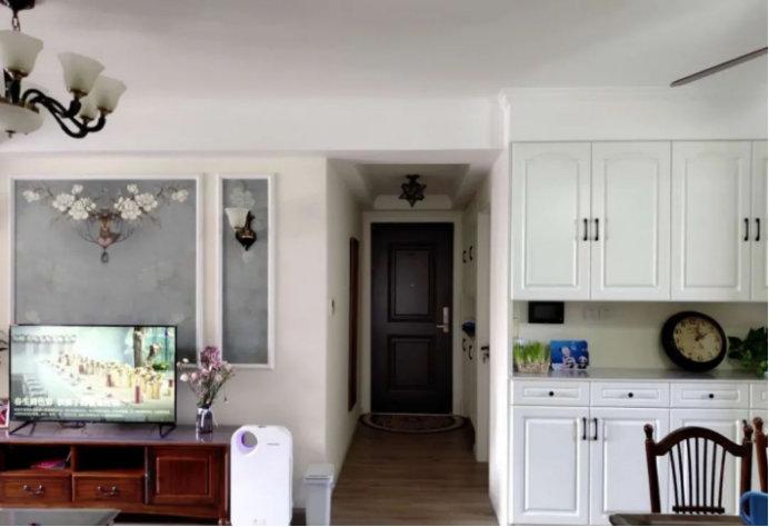 南京保利国际社区,简约浪漫情调的小窝,简美的95平三室两厅