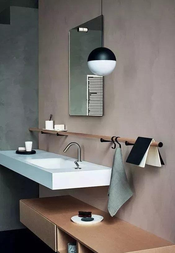 卫生间洗手台装修,什么样的设计布局好,这些都很实用很美观