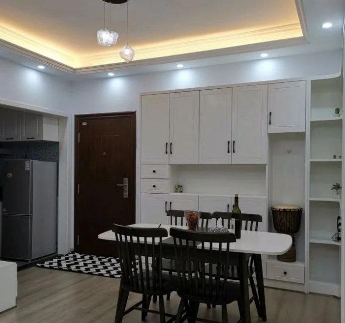 南京80平装修案例,两室两厅的合理布局,卧室小就这样做